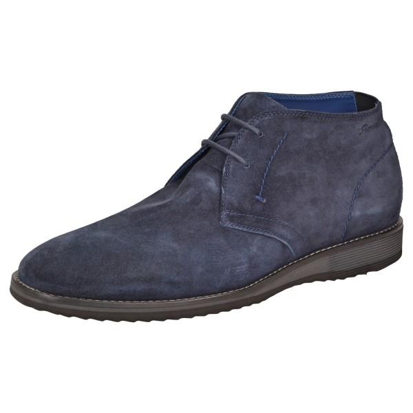 Quintero-703 by SIOUX Business Boot Schuhe Schnürschuhe 36940 Deepblue Blau
