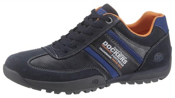 Dockers by Gerli Herren Halbschuhe Sneakers Schuhe Navy