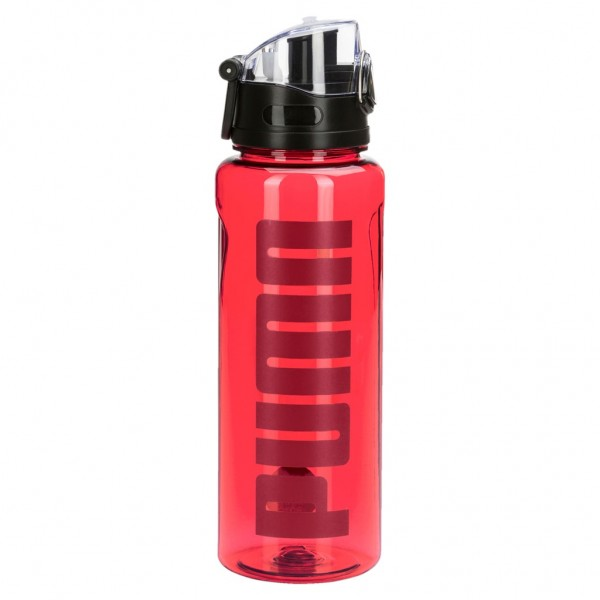 PUMA TR Bottle Sportstyle Flasche 1L Transparent Nagy Red Rot