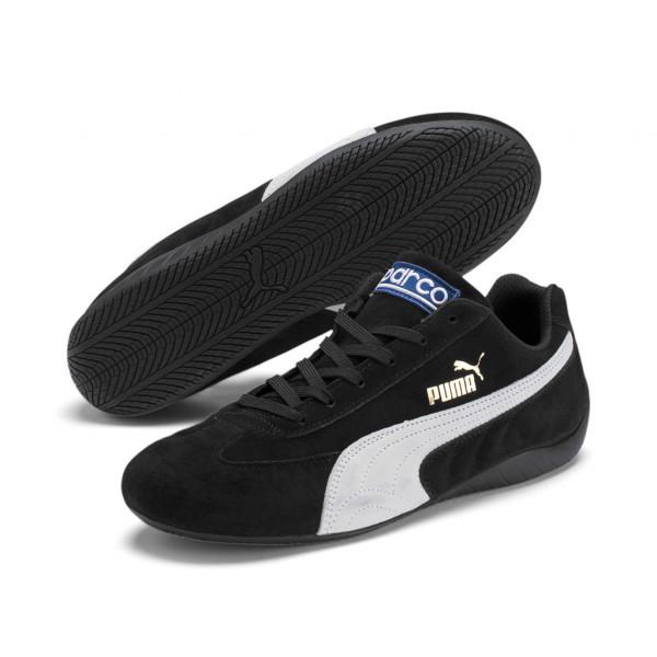 PUMA Legende Unisex Speed Cat Speedcat OG Sparco Sneaker Low Top Schwarz 339844