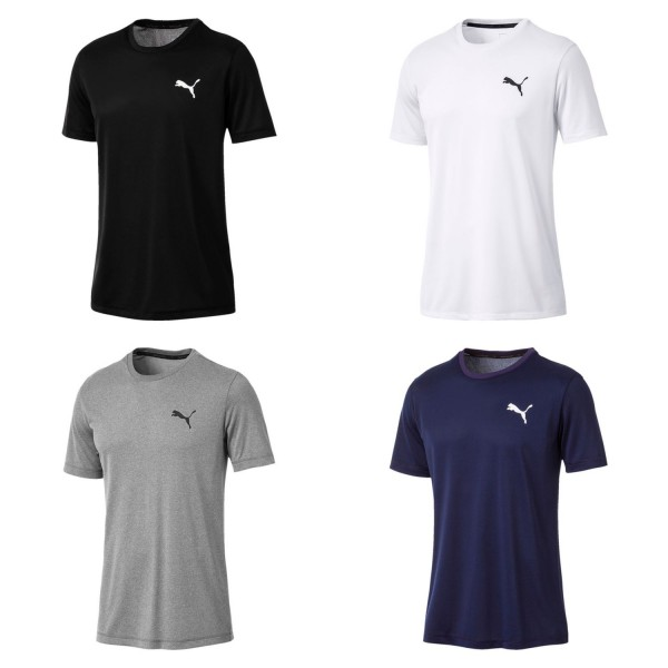 PUMA Essential Herren Ess Active Tee / T-Shirt Kurzarm dryCell