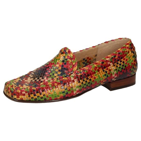 SIOUX Germany Damen Schuhe Slipper 60566 Cordera Multicolour Weite F