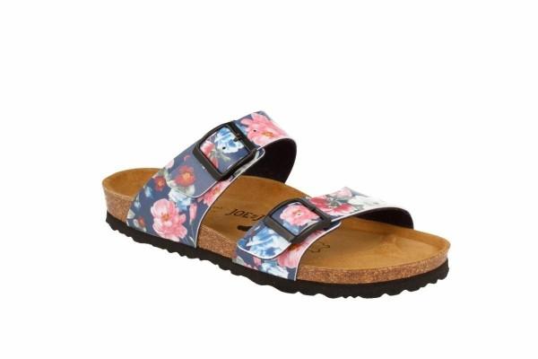 JOE N JOYCE Sevilla Sandale Sandalette Hausschuhe SynSoft Komfort Roseblue