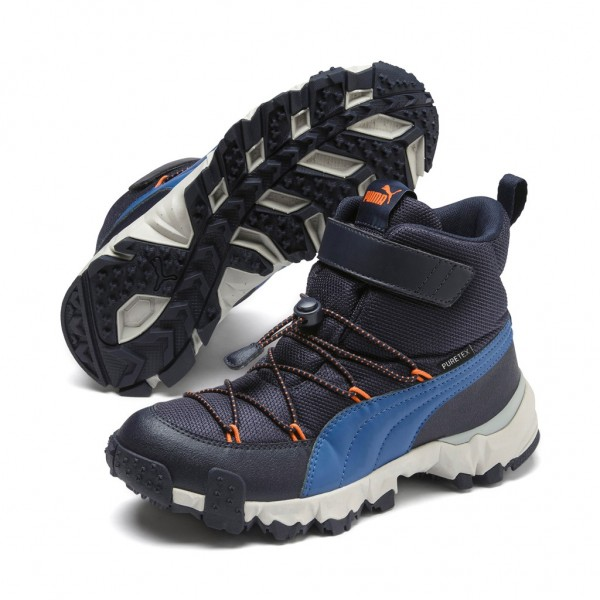 Puma MAKA Puretex V JR Top Unisex Kinder Stiefel Outdoor Boots Winterschuhe