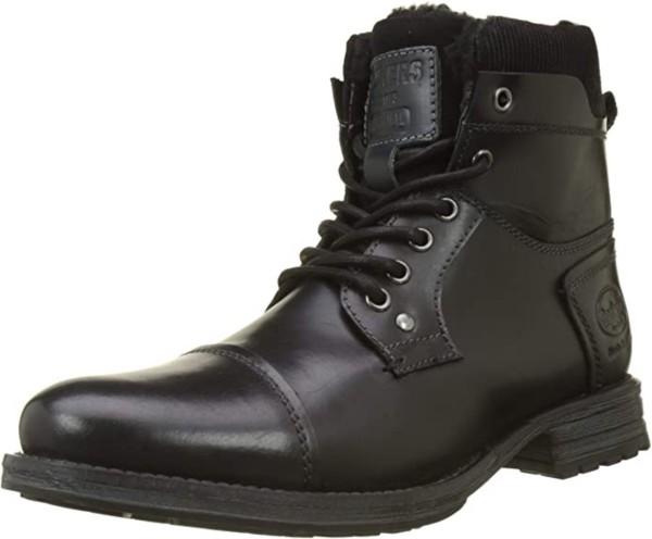 DOCKERS by Gerli 43DY101 Herren Combat Boots Stiefeletten Stiefel Leder Warmfutter