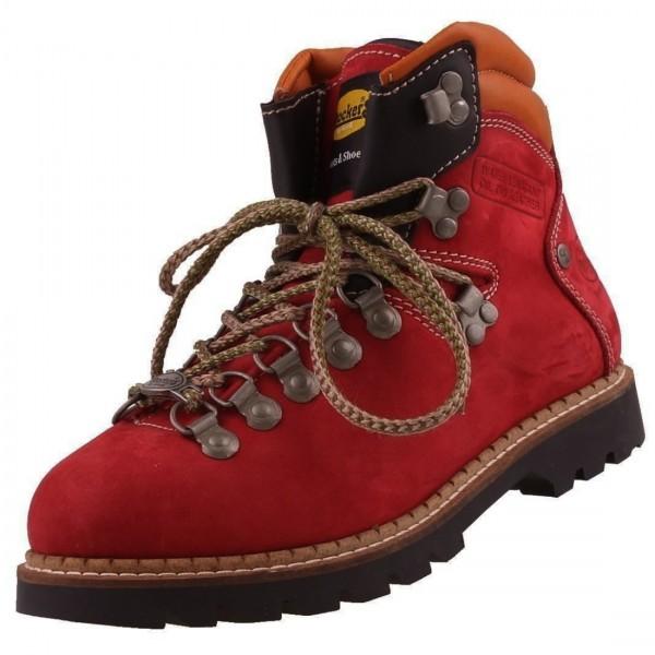 Dockers by Gerli Damen Bergsteiger Wanderstiefel Boots Trekkingstiefel Rot