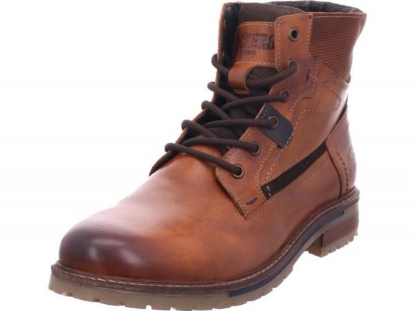 DOCKERS by Gerli Herren Combat Boots Stiefeletten Stiefel Tan 440