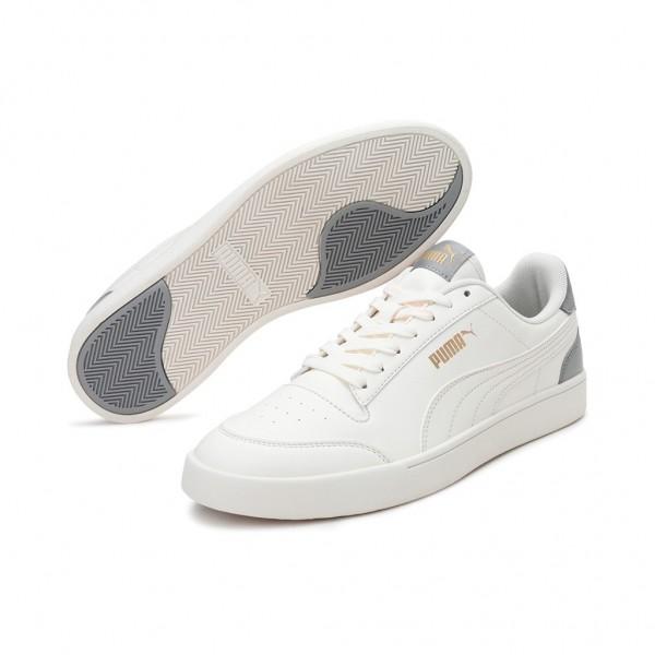 Puma Herren Shuffle Fashion Sneaker | Whisper - Whisper - Limestone