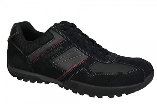 Dockers by Gerli Herren Halbschuhe Sneakers Schuhe Schwarz