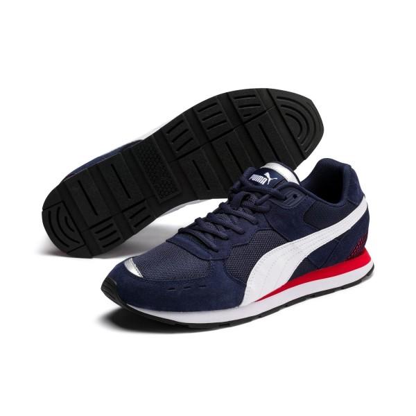 Puma VISTA Unisex Sneaker Schuhe Turnschuhe Mesh Retro Peacoat