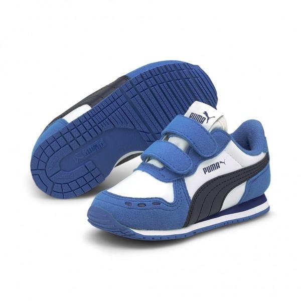 Puma Cabana Racer SL V Inf Unisex Kinder Baby Schuhe Sneaker Klettverschluss