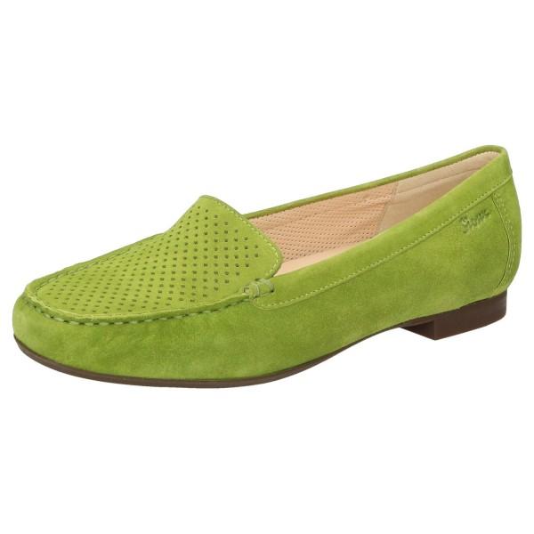 SIOUX Germany Damen Schuhe Slipper Zillette 700 Wechselfußbett Grün