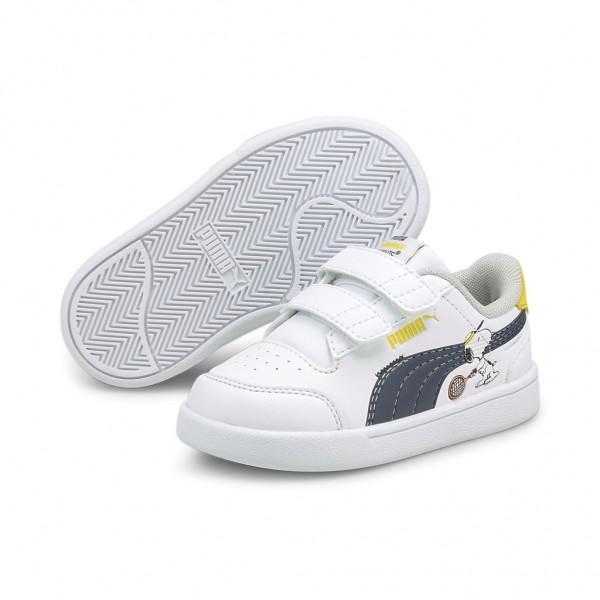 Puma Unisex Kinder PEANUTS Shuffle V Inf Sneaker Sportschuhe Turnschuhe Freizeit