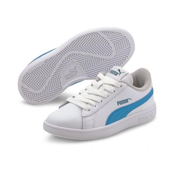 Puma Unisex Kinder Smash v2 L PS Low Top Schuhe Sneaker Pre School