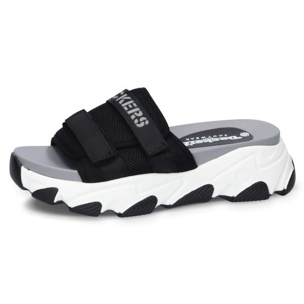 DOCKERS by Gerli Damen Slip-On Sneaker Pantolette Sandale Plateausandale Slipper