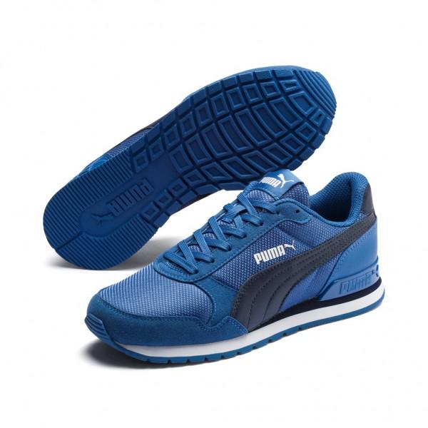 Puma St Runner Mesh v2 JR Damen Kinder Unisex Sneaker Low Top Retro