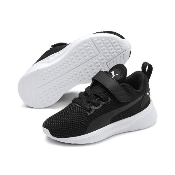 Puma Unisex Flyer Runner V Inf Kinder Baby Schuhe Sneaker Schwarz