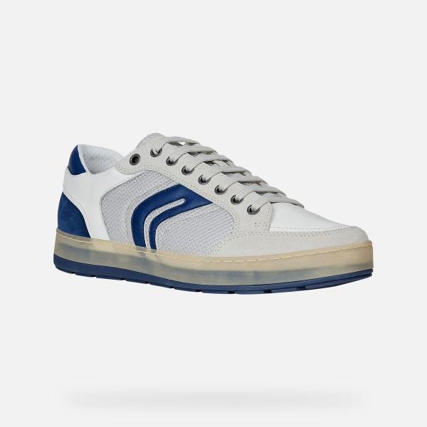 Geox Respira Herren U Ariam A Low Top Sneaker Halbschuhe Papyrus White