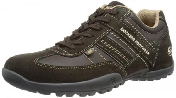 Dockers by Gerli 322530 Herren Halbschuhe Sneakers Braun