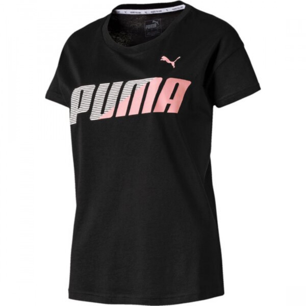 PUMA Damen Woman MODERN SPORT Graphic Tee Shirt / T-Shirt Kurzarm