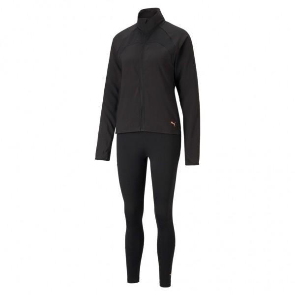 Puma Damen ACTIVE Yogini Woven Suit / Trainingsanzug Sportanzug Jogginganzug