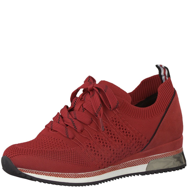 MARCO TOZZI Premio Fashion Slip-On Sneaker Low Top 2-23750-35 Red Comb. Rot