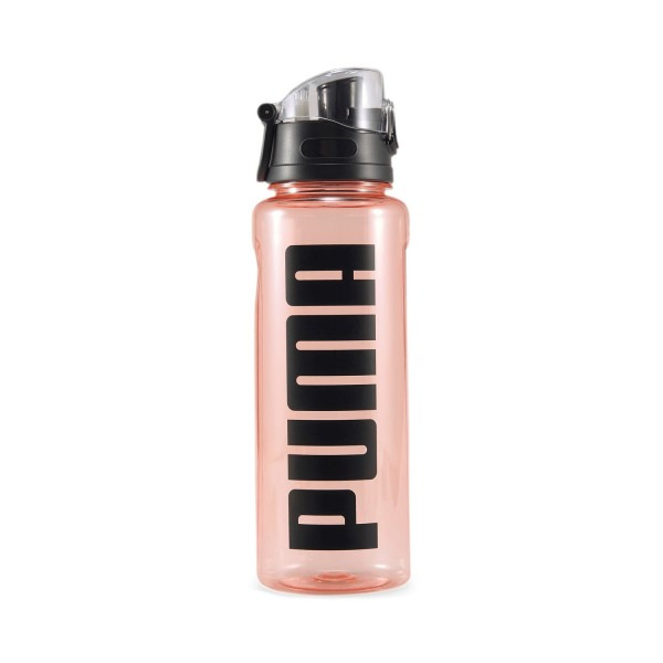 PUMA TR Bottle Sportstyle Flasche 1L Transparent Rosewater Puma Black