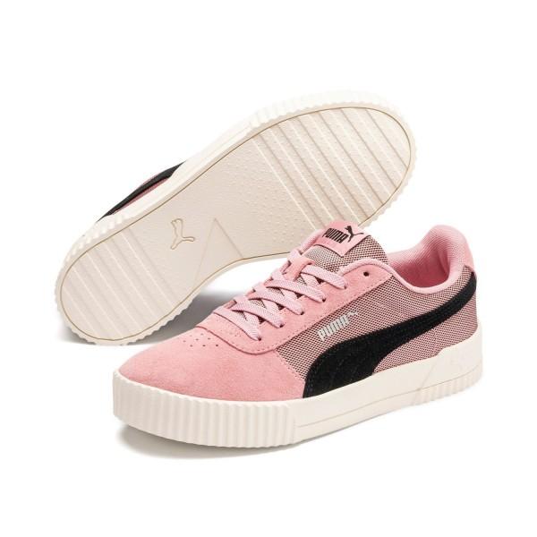 Puma CARINA Lux SD Damen Streetstyle Sneaker Clubwear Bridal Rose