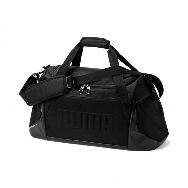 PUMA Unisex Sports Duffle Bag Sporttasche M Black Schwarz
