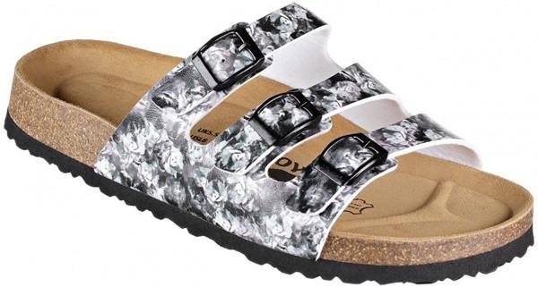 JOE N JOYCE Paris Sandale Sandalette Hausschuhe SynSoft Komfort Flow Multi