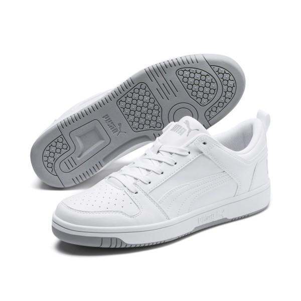 Puma Rebound LayUp Lo SL Schuhe Sneaker Weiß