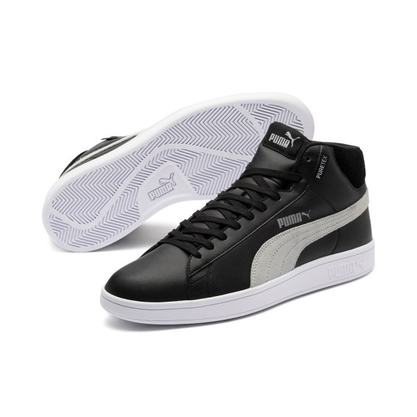 Puma Smash v2 Mid PureTEX JR Kinder Damen Sneaker 367854 PURETEX Wasserdicht