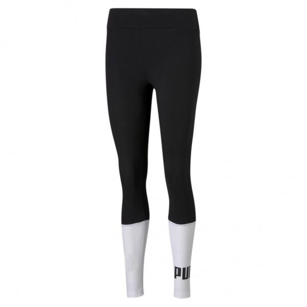 PUMA Damen ESS+ Colourblock Leggings Essentials