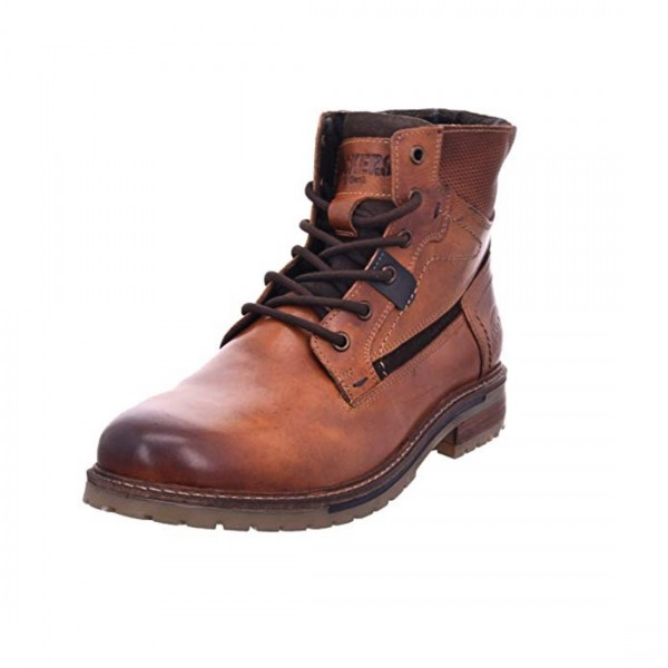DOCKERS by Gerli Herren Combat Boots Stiefeletten Stiefel Tan Braun