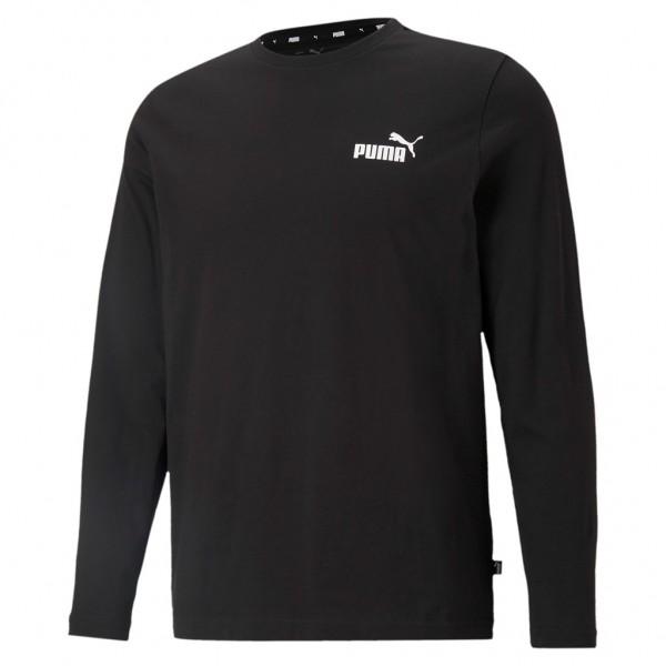 PUMA Essential Herren Ess Small Logo Longsleeve Tee / T-Shirt Langarm