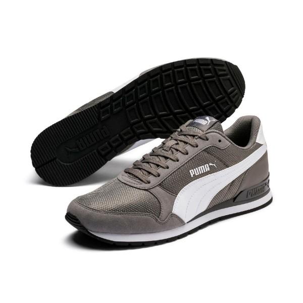 Puma Unisex ST Runner v2 Mesh Sneaker Low Turnschuhe Charcoal Grau