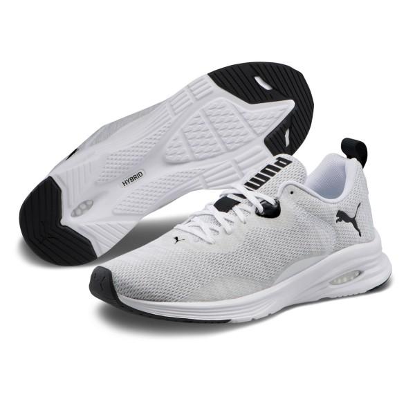 Puma Hybrid Fuego Knit Laufschuhe Fitnessschuhe Turnschuhe Weiß