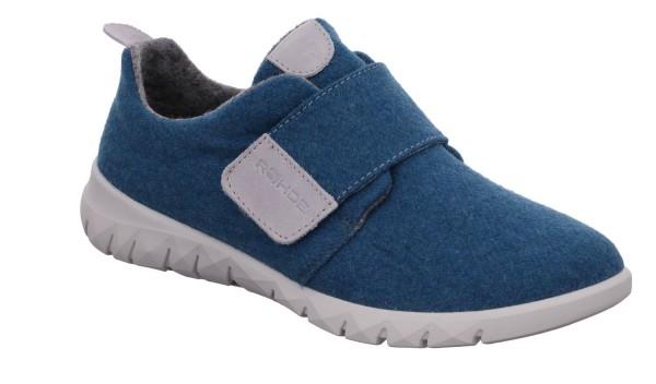 Rohde Modena Damen Sneaker Klettverschluss Hausschuhe recycelt