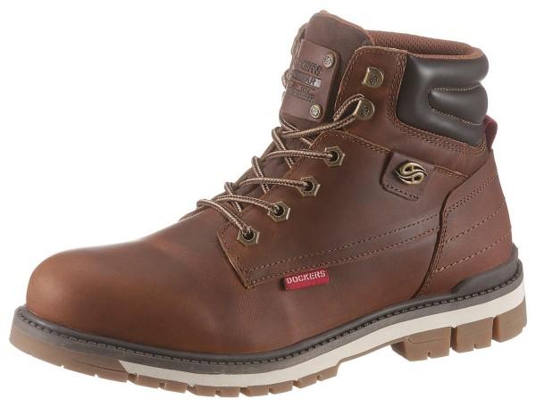 Dockers by Gerli Herren Combat Boots Desert Boots Stiefel Schoko
