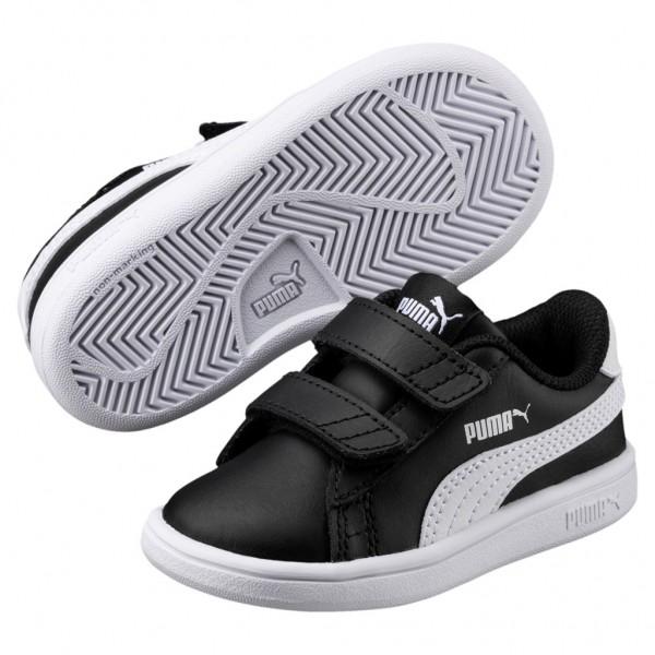 Puma Smash v2 L V PS Low Top Kinder Schuhe Sneaker 365173
