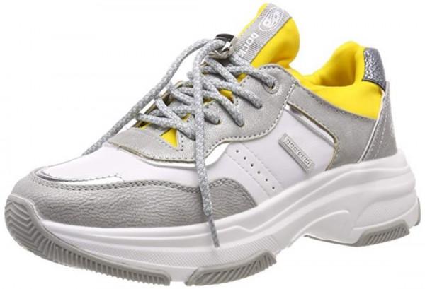 DOCKERS by Gerli Damen Fashionsneaker Sneaker Silber Multi