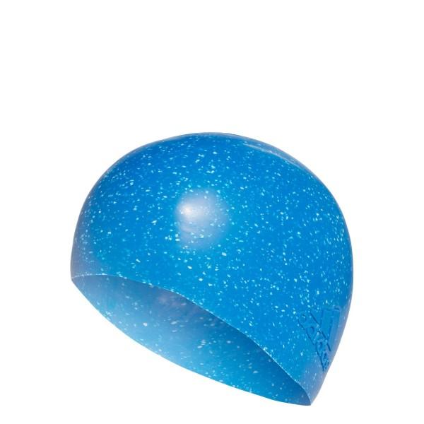 adidas REcycled cap Silicone Swim Cap / Badekappe Blau CV7599
