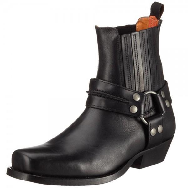 Dockers by Gerli Damen Biker Western Boots Stiefelette Stiefel