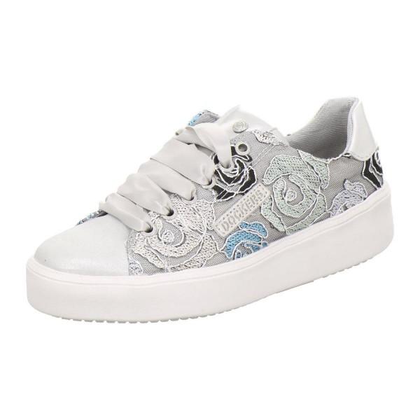 DOCKERS by Gerli Damen Fashionsneaker Sneaker Silber Weiß