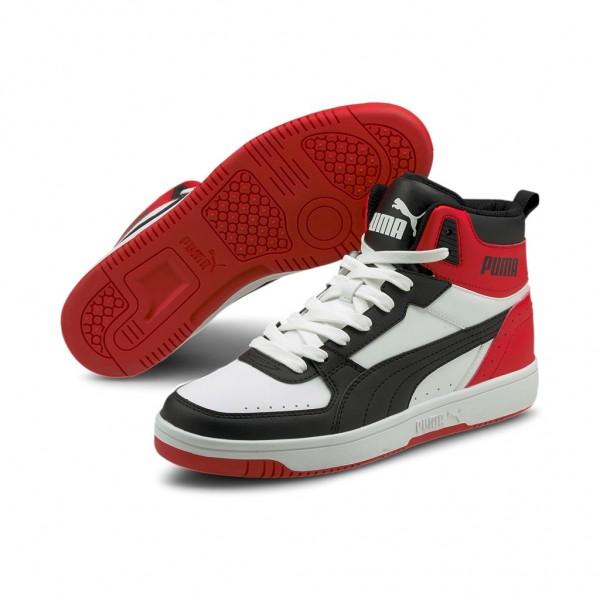 Puma Rebound Joy Mid Schuhe Sneaker Mid Cut Basketballsneaker