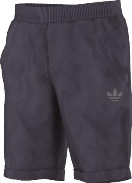 adidas Originals Kinder J TERRY SHORTS Hose AJ 0303 Blau Used Look
