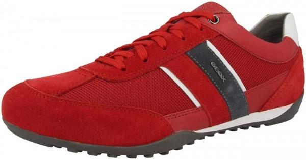 Geox Respira Herren U Wells C Low Top Sneaker Schnürer Halbschuhe