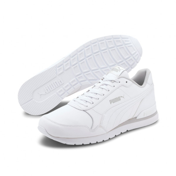 Puma Unisex ST Runner v2 Full L Unisex Sneaker Schuhe Weiß