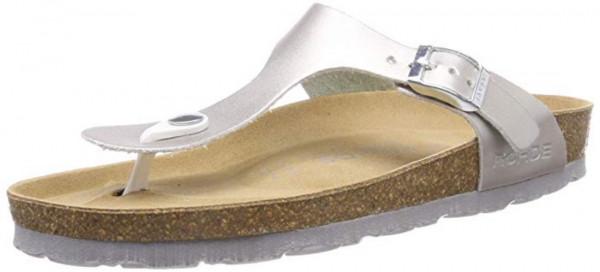 Rohde Alba 5600 Damen Sandale Sandalette Zehentrenner 89 Silber
