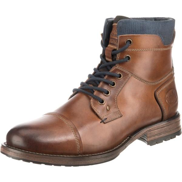DOCKERS by Gerli Herren Boots Stiefeletten Stiefel elegante Boots Textilfutter